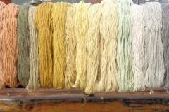 lana tinta colori in scala