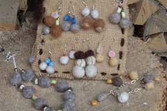 Orecchini con monachella in argento
